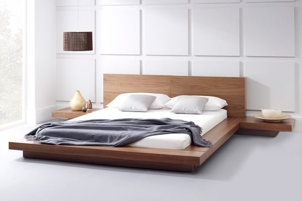 Lugo Japanese style low bed models
