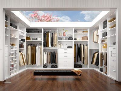 Custom Walk in cabinet models